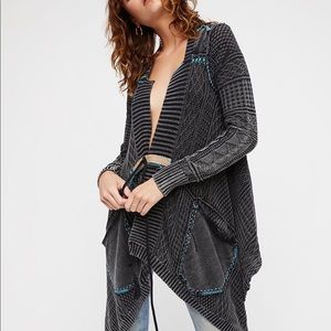 Free People All Washed Out Cardi